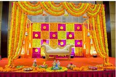 Do you want to make all your wedding stage pictures stand out but with a simple decor installation? Flower wall decor is the answer you seek. Read on to know how it will be perfect for your wedding ceremonies. Wedding Stage Decorations, Engagement Stage Decoration, Desi Wedding Decor, Marriage Decoration, Wedding Mandap, Backdrop Decorations, Wedding Ceremonies, Backdrops, Wedding Venues