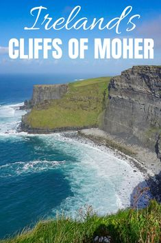 The iconic Cliffs of Moher had been calling my name since the first time I visited Ireland. This Cliffs of Moher tour is the perfect day trip from Galway! Dublin Travel, Ireland Travel Guide, Europe Travel Guide, Paris Travel, Travel Tips, Travel Abroad, Travel Guides, Ireland Hotels, Castles In Ireland