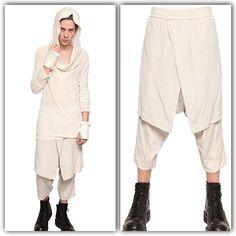 _JULIUS SS 2013 Collection [vandalism;] 417PAM10 Description: Skirt Pants Material: Silkep Cloth