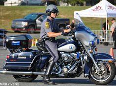 Motorcycle cop.