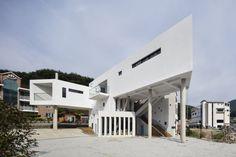 Muju Dada Pension | KDDH #Concrete #KDDH #Pension #SouthKorea #SunNamgoong #Wood