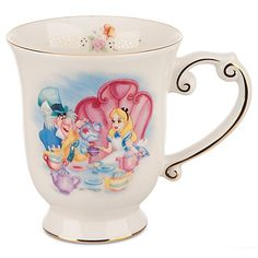 I got this coffee mug in Disney World and it is my favorite mug ever! <3 it!