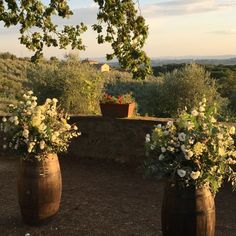 Siena countryside ceremony