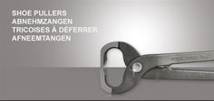 Kerckhaert supplies, from its assortment of tools, different shoe pullers by different suppliers.