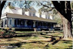 "Myrtles Plantation, Francisville, La.  This plantation was completed in 1796 and has been called one of ""America's Most Haunted Homes."""