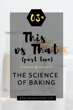 This vs That (part two): In part two, we talk about the different types of sugar you will come across and the two major types of cocoa powder! Baking Power, Baking Science, How To Make Icing, Large Crystals, Oreo Cookies, Cocoa Butter, Baking Soda