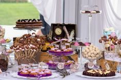 Decadent Dessert table service Gold Coast and Brisbane. Choose your favourite desserts from our menu. Best Dessert Recipes, Fun Desserts, Delicious Desserts, Party Recipes, Wedding Cake Photos, Fall Wedding Cakes, Wedding Foods, Ideas Geniales, Nontraditional Wedding