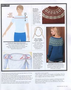 """Photo from album """"Vogue Knitting Winter on Yandex. Easy Knitting Patterns, Knitting Charts, Knitting Stitches, Pullover Design, Sweater Design, Vogue Knitting, Knitting Books, Diy Crafts Crochet, Icelandic Sweaters"""