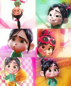 Princess Vanellope table next year! cute little goggles as table give-away items??
