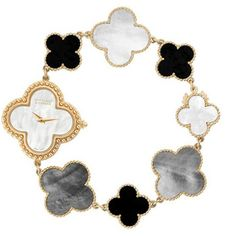 Wish; Van Cleef & Arpels Vintage Alhambra Bracelet Watch