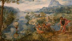 Jan van Amstel - Saint Christopher. 1528 - 1542