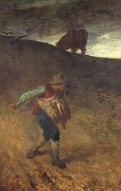 Jean-François Millet, The Sower, 1847-48