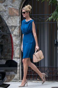 55e616f51d7 Ivanka Trump wearing Ivanka Trump Hopewell Messenger in Nude