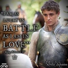 The White Queen King Edward-Max Irons