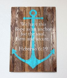 Reclaimed Wood Wall Art Sign with Hand by WouldYouBelieveWood