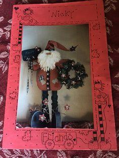 "Christmas Santa Craft Pattern, ""Nicky"" by JustClickThreeTimes on Etsy"