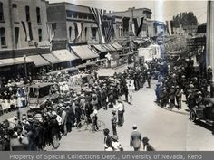 4th of July Parade, Reno 1921 #BiggestLittleCity