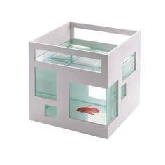 Umbra 460410-660 Fishhotel Aquarium, weiß :: auf ztyle.de