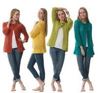 Any Color Comfy Cardi Yarninspiration Free pattern I may have pinned this one already?