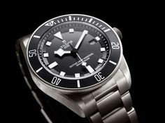 Rolex Tudor Pelagos in Ti. Classic, titanium and affordable compared to most of the Rolex lineup. Dream Watches, Luxury Watches, Cool Watches, Watches For Men, Men's Watches, Fashion Watches, Patek Philippe, Breitling, Seiko
