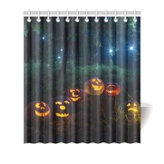 Artsadd Bath Decor Collection Happy Halloween Pumpkin Waterproof Fabric Shower Curtain Bath Curtain >>> Much more details can be discovered at the photo url. (This is an affiliate link). Halloween Shower Curtain, Bath Decor, Fabric Shower Curtains, Waterproof Fabric, Halloween Pumpkins, Decorating Your Home, Happy Halloween, Bath Tubs, Link