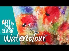Painting out of control! - Semi-abstract flowers in Watercolour - YouTube Abstract Flowers, Watercolor Flowers, Watercolour, Watercolor Art Lessons, Pencil Drawings, Make It Yourself, Artist, Painting, Youtube