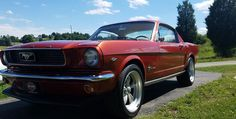 66 Fastback 1966 Mustang 289 pony hotrod