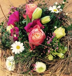 Bouquet rond  atelier-végétal.ch