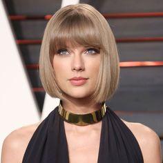 Taylor Swiftin polkkatukka on ohuelle hiuslaadulle juuri oikean pituinen.