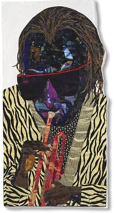"""Miles Ahead- Alice Beasley  47½"""" x 24"""" Quilt (cotton)"""