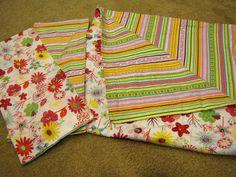 How To Make Receiving Blankets and Burp Cloths momspark.net | Mom Spark™ - A Blog for Moms - Mom Blogger