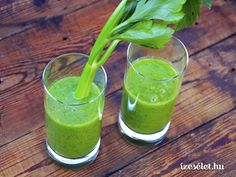 Zöldturmix, alma-zeller smoothie - Receptek | Ízes Élet - Gasztronómia a mindennapokra