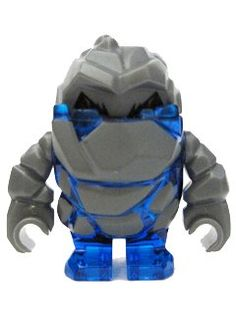 Rock Monster Glaciator (Trans-Blue) – LEGO Power Miners Minifigure