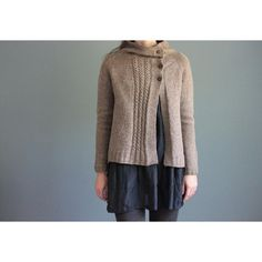Clouds in my Coffee Knitting pattern by Elizabeth Smith | Knitting Patterns | LoveKnitting