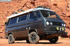 Volkswagen Van | Westfalia Syncro Camper | 4WD Volkswagen Camper Van | Adventure Vehicle