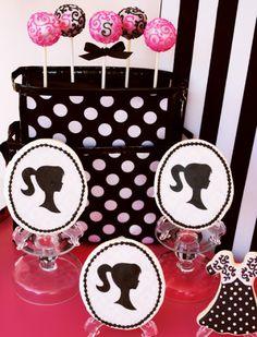 Vintage Barbie birthday party