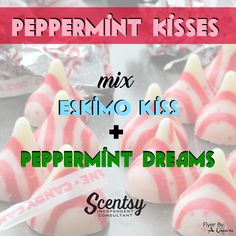 Peppermint Kisses Mixology - Flyer by Angela O'Hare. #smellarific