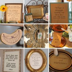 alice in wonderland quotes | Southern Vintage | Alice in Wonderland Tea Party Bridal Shower