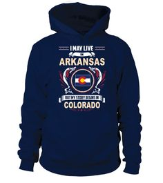 # May I Live In ARKANSAS But My Story Begins In COLORADO .  HOW TO ORDER:1. Select the style and color you want: 2. Click Reserve it now3. Select size and quantity4. Enter shipping and billing information5. Done! Simple as that!TIPS: Buy 2 or more to save shipping cost!This is printable if you purchase only one piece. so dont worry, you will get yours.Guaranteed safe and secure checkout via:Paypal | VISA | MASTERCARD