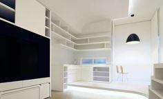 裝修340呎 2人純白色系 + 超多收納空間!