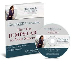 Get OVER Overeating - Too Much On Her Plate | Overeating Help for Emotional Eating  #selfcare #selfhelp #overeatinghelp #jumpstartprogram