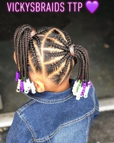 for kids Image may contain: one or more people Image may contain: one or more people Little Girl Braid Styles, Kid Braid Styles, Little Girl Braids, Short Hair Styles Easy, Braids For Kids, Natural Hair Styles, Toddler Braids, Little Girls Natural Hairstyles, Toddler Braided Hairstyles