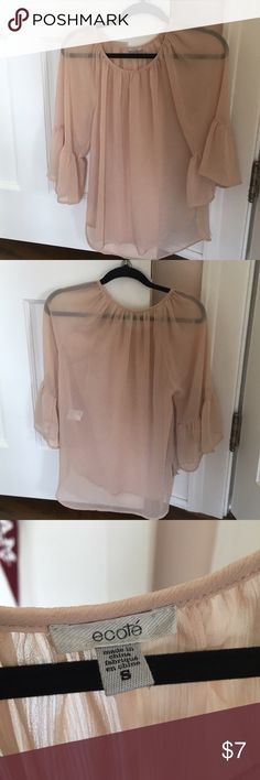 Boho Peasant Blouse New worn a few times. Purchased at Nordstrom. Tops Blouses