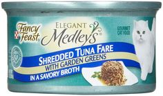 Fancy Feast Elegant Medleys - Shredded Tuna Fare - 24 x 3 oz >>> To view further for this item, visit the image link. (This is an affiliate link and I receive a commission for the sales)