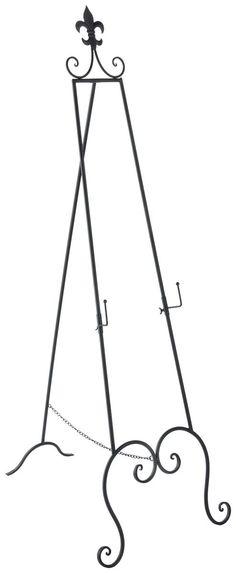 Floor Standing Adjustable Decorative Easel