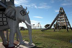 steampunk playground in Oamaru