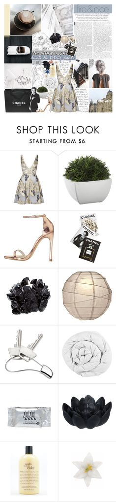 """THIS BIG WIDE CITY -- shoutout"" by vanilla-chai-tea ❤ liked on Polyvore featuring GET LOST, Notte by Marchesa, Crate and Barrel, Chanel, Stuart Weitzman, Assouline Publishing, McCoy Design, Georg Jensen, The Fine Bedding Company and INC International Concepts"