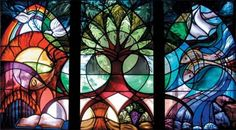 Liturgical stained glass artists find parallel in healthcare artwork Stained Glass Projects, Stained Glass Art, Stained Glass Windows, Mosaic Glass, Mother Mary Images, Images Of Mary, Window Glass Repair, Leaded Glass, Sacred Geometry