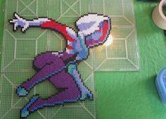 Spider-Gwen perler beads by dazedxpunk