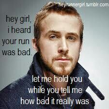 Hey runner girl...